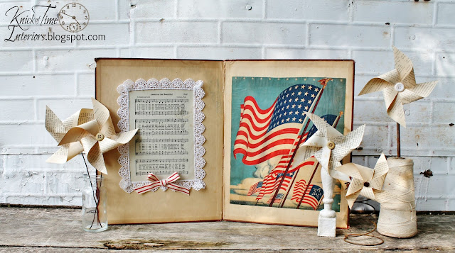 Patriotic Projects and Free Patriotic Printable Graphics via http://knickoftimeinteriors.blogspot.com/