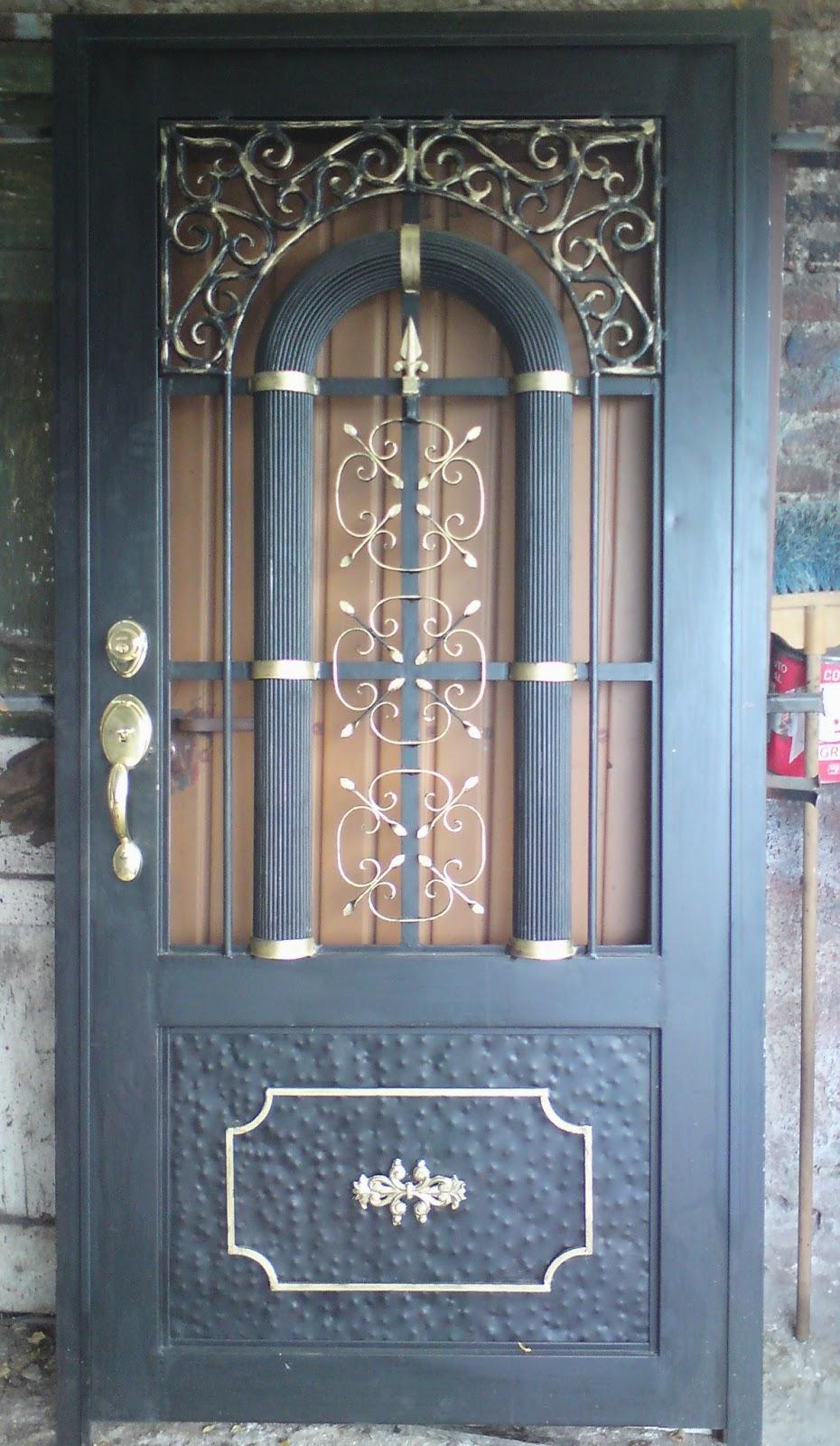 Herreria rober galeria de puertas - Puertas de herreria para entrada principal ...