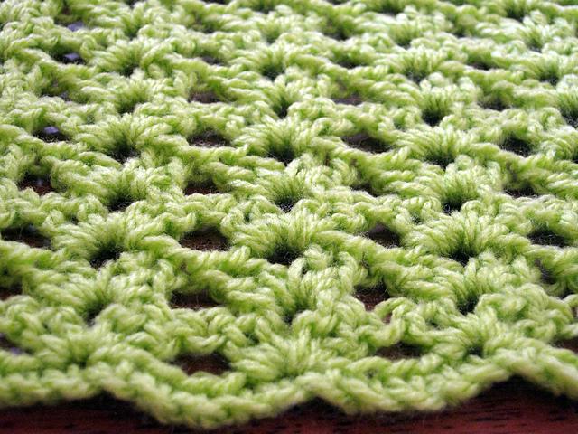 The Sunroom Uk Double V Stitch Baby Blanketcrochet Pattern