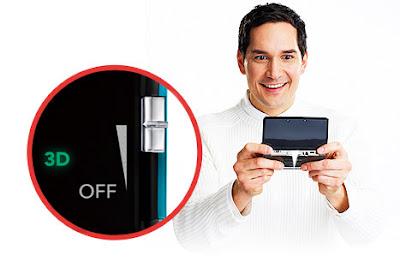 Control manual de intensidad 3D en Nintendo 3DS Gratis