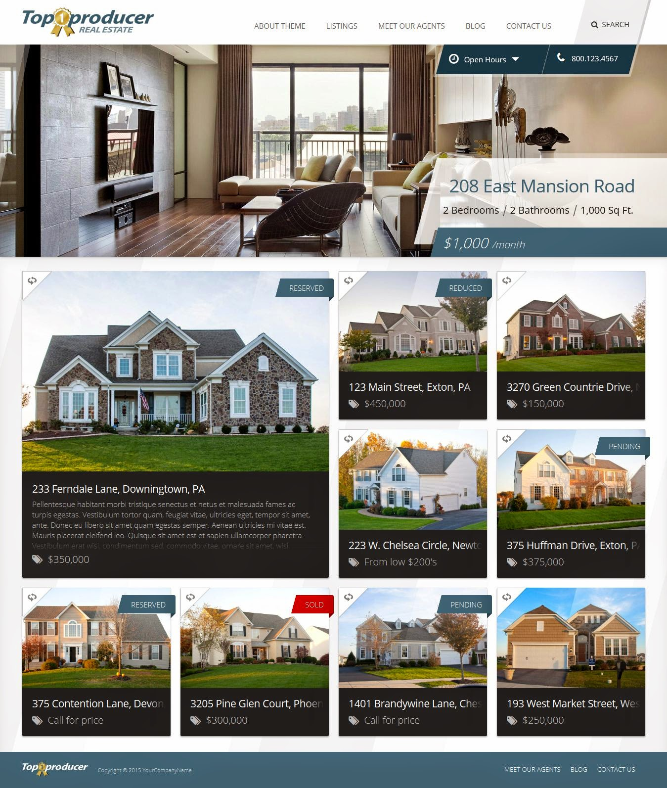 Best Real Estate and Car Dealer WordPress Theme