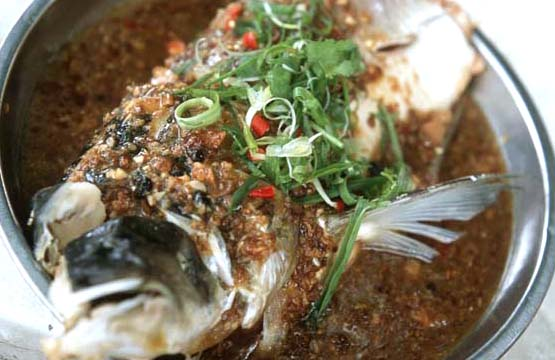 Braised Carp With Hot  Bean Paste