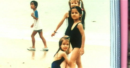 Katrina Kaif Childhood Pictures