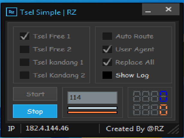 Inject Tsel Simple RZ