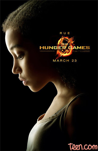 The Hunger Games character poster Rue Amandla Stenberg