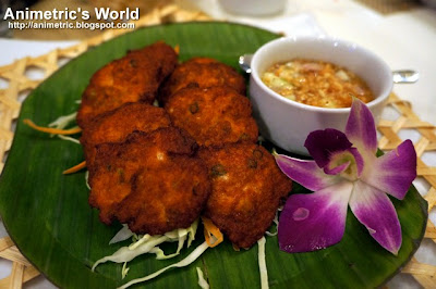 Fish Cakes at Thai Bistro