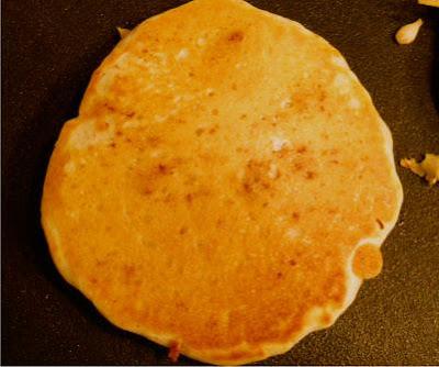 Sausage Stuffed Pancakes