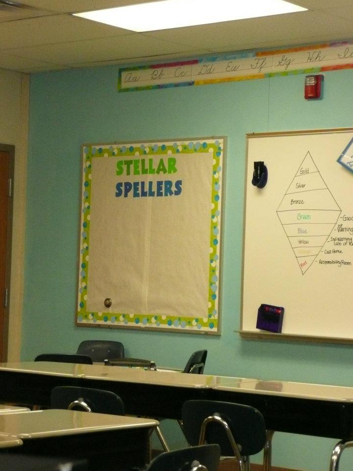 Best Bulletin Board Ideas: Proud Wall & Stellar Spellers