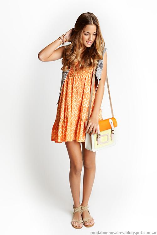 Como quieres que te quiera primavera verano 2014. Vestidos moda verano 2014.