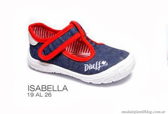 calzado infantil diuff 2014