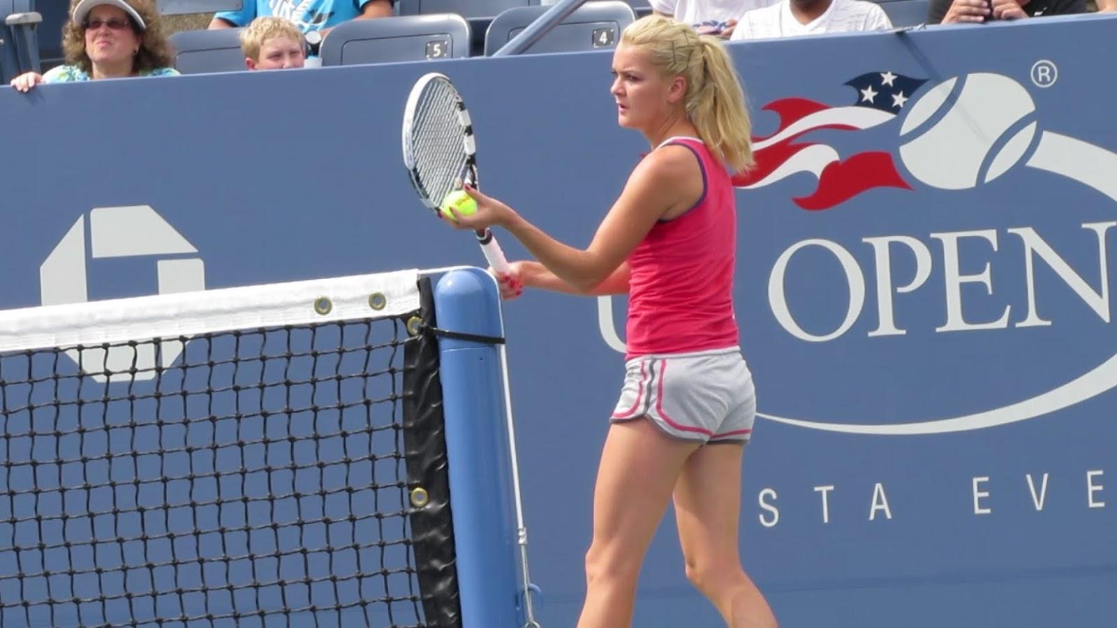Agnieszka radwanska hot as hell at practice 4