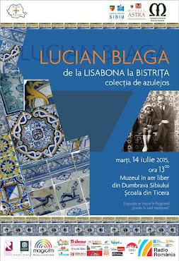 Lucian Blaga de la Lisabona la Bistriţa. Colecţia de azulejos