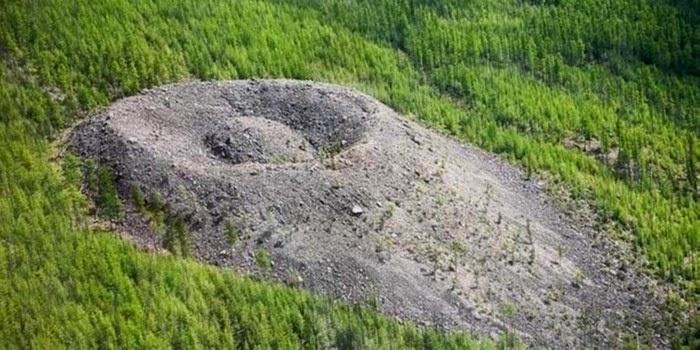 El cráter más misterioso de Siberia