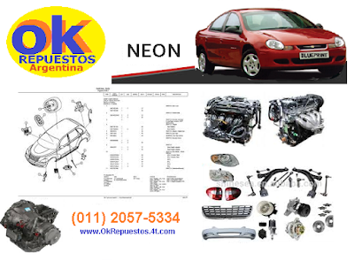 repuestos chrysler neon