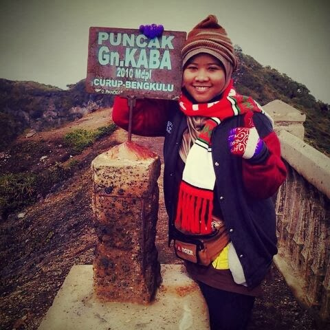 @Puncak Gunung Kaba, Bengkulu