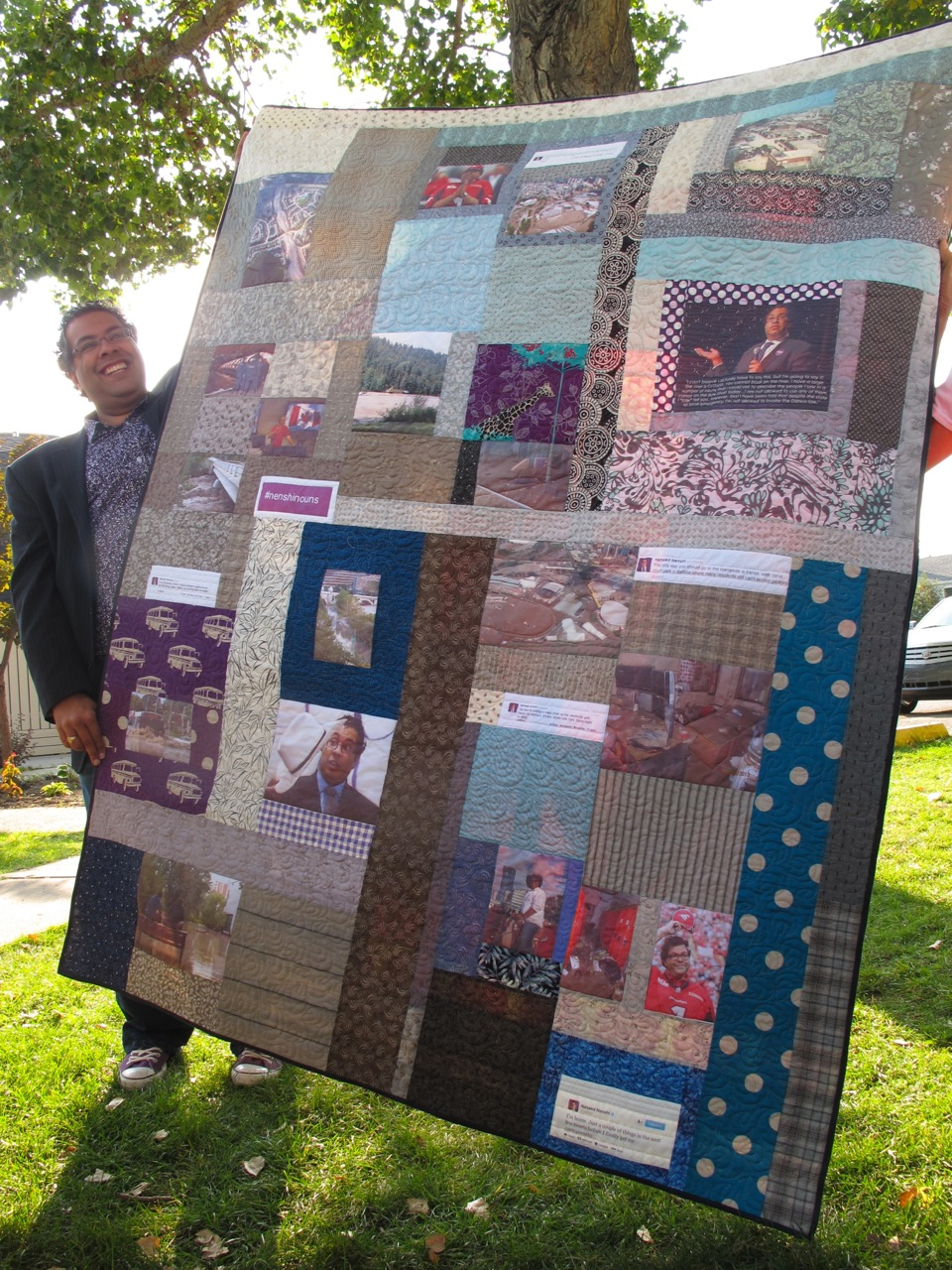 From All Over The World Quilters Sent In Hugs Made Quilts And Let Me Tell You Every Last One Of Them Is Appreciated
