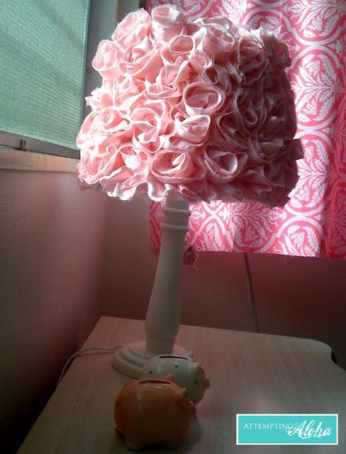 Roses lamp DIY