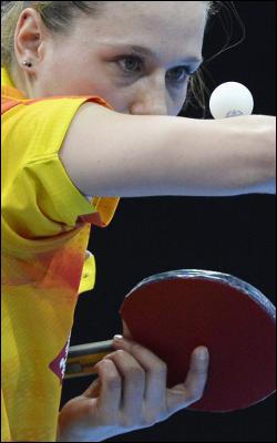 Natalia Partyka jest tenisistką stołową, biorącą udział w Olimpiadzie w Londynie.