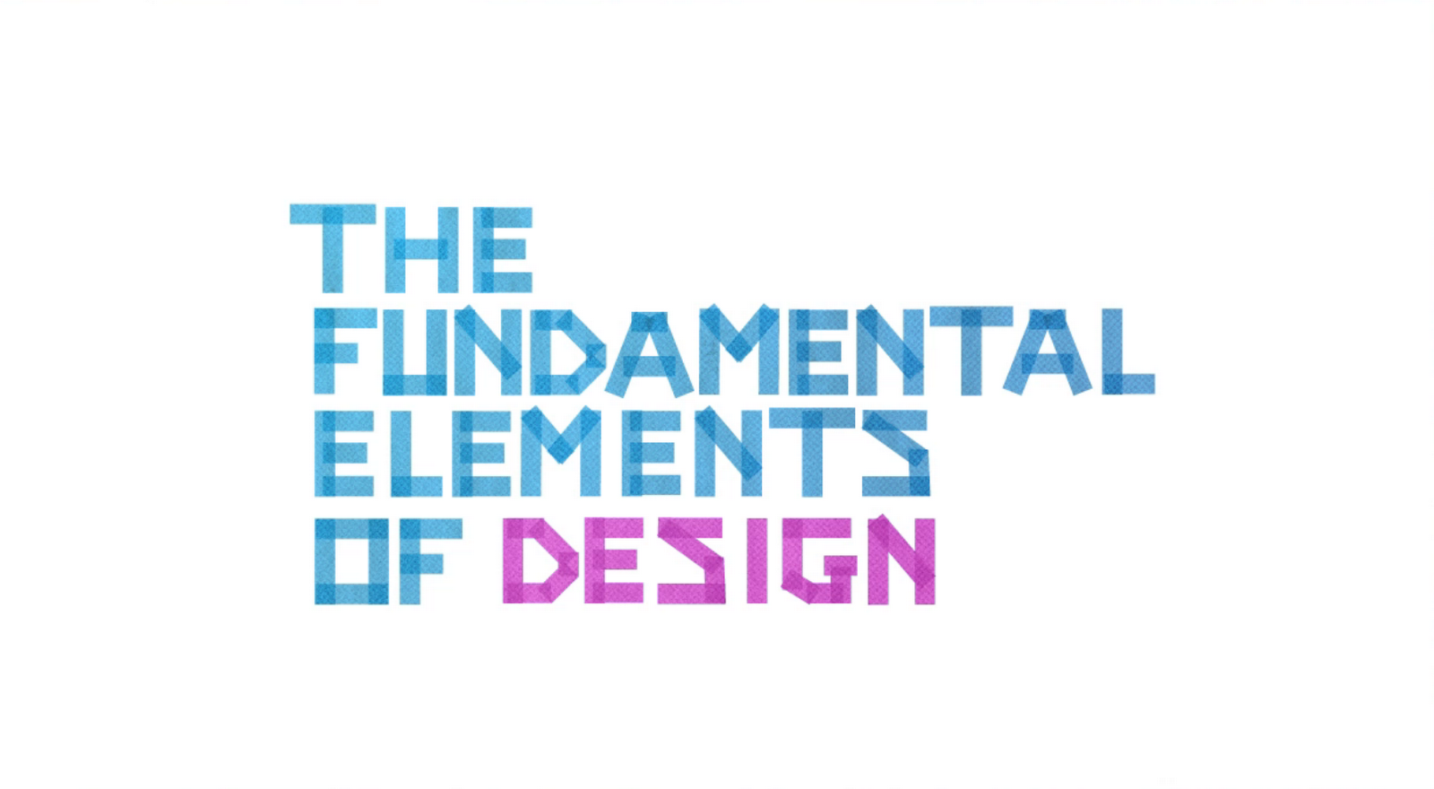 What Are The Elements Of Design : Prostituted thoughts the fundamental elements of design