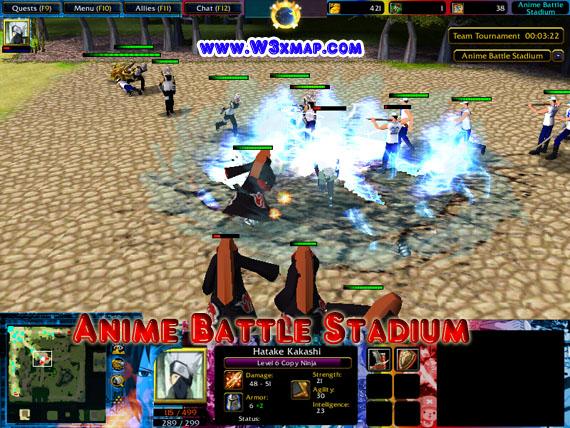 anime battle stadium 31a