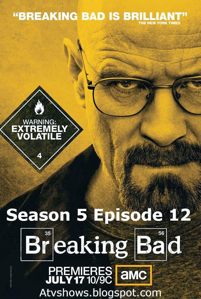 Breaking Bad Season 5 Part 2 Returns August 11, 2013 ...