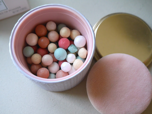 Guerlain Meteorites Rainbow Pearls swatch review