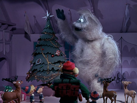 The Abominable Snowman tamed in Rudolph the Red-Nosed Reindeer 1964 animatedfilmreviews.blogspot.com