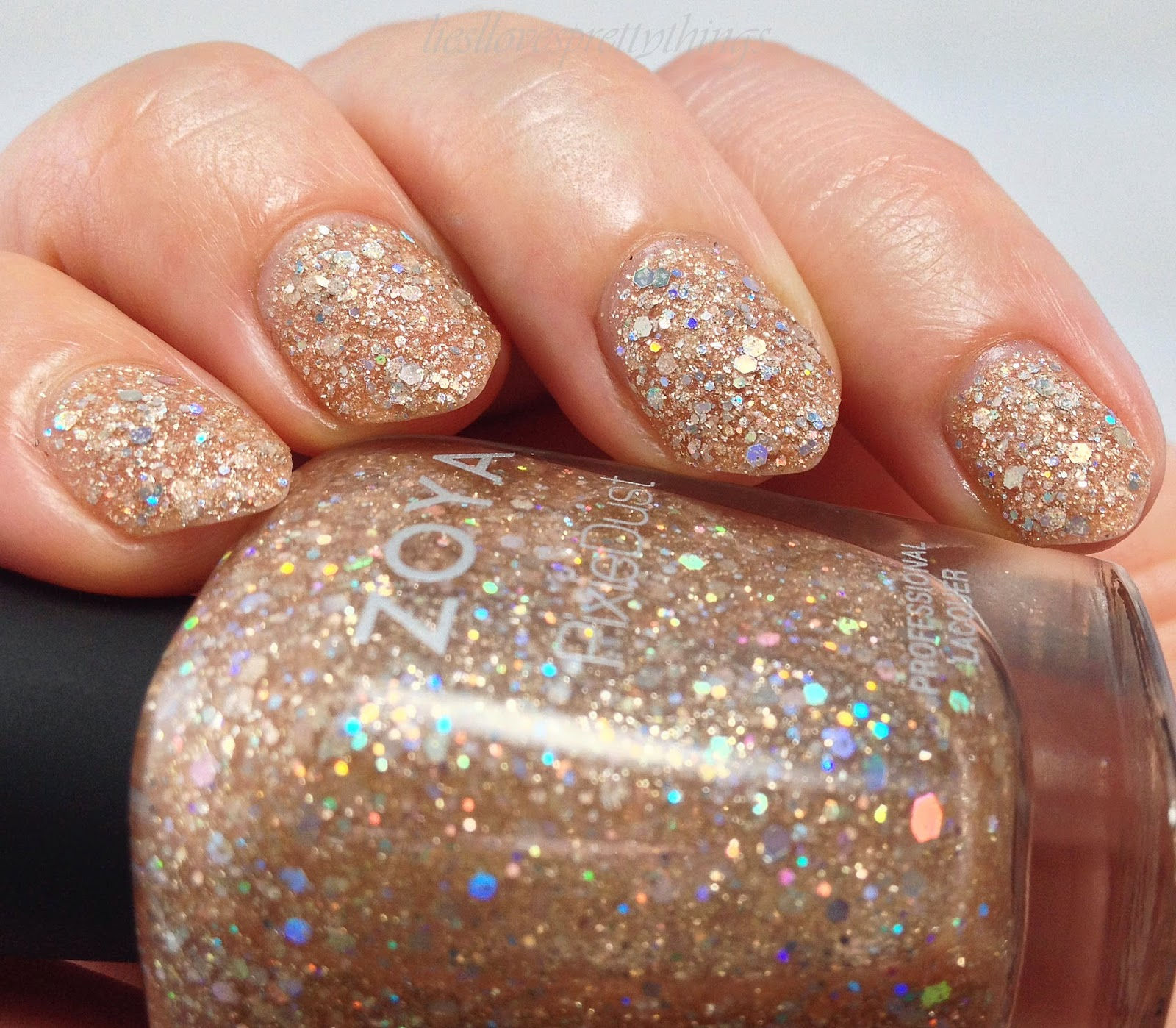 Zoya Magical Pixie Bar swatch and review