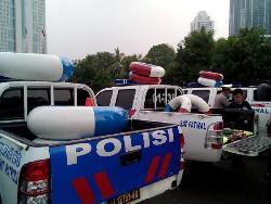 PERSIAPAN POLDA METRO SAAT BANJIR JAKARTA 2015-2016