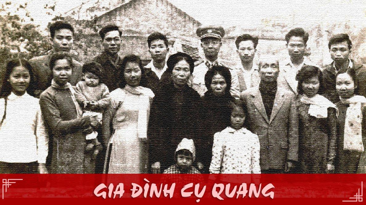 Gia đình Cụ Quang