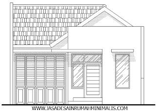 Jasa Desain Rumah Minimalis Tropis
