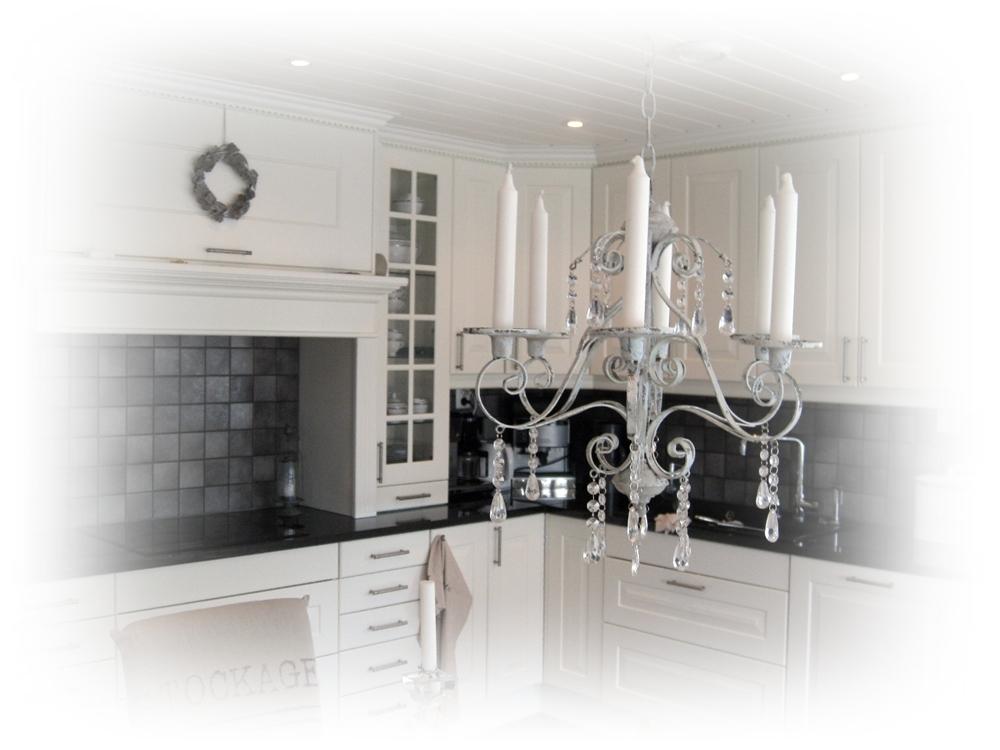 Notre maison: kjøkkenet vårt, husets hjerte