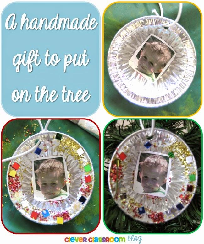 A Handmade Gift to put on the Christmas Tree