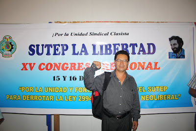 Nilton Escobar Villanueva, flamante Secretario General 2013-2015_SUTELL