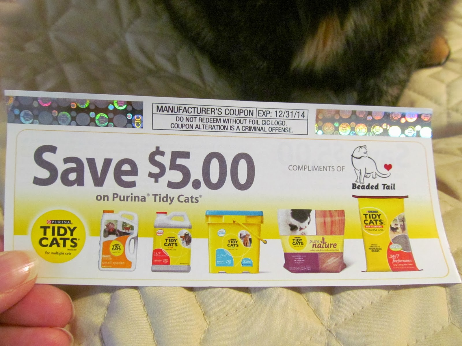 graphic relating to Tidy Cat Printable Coupons identified as Discount coupons for cat muddle tidy cats / Childrens outlet