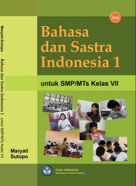 Ebook Bahasa Dan Sastra Indonesia 1 Untuk Smp Kelas 7
