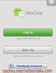 We Chat Sign Up