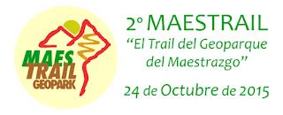 Geopark Maestrail 2015 trail geoparque maestrazgo