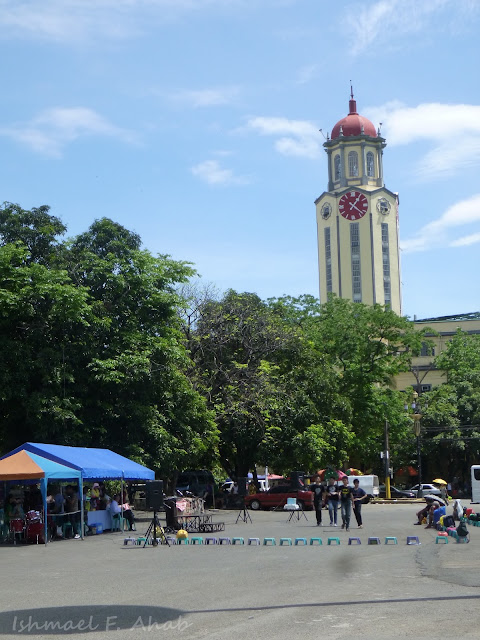 Clock tower of the Manila City Hall