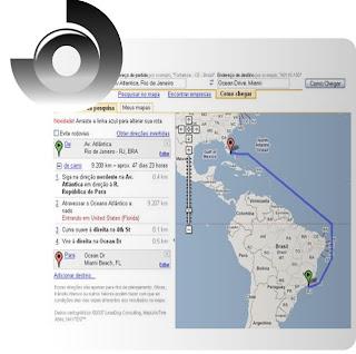 como ver mapa na internet