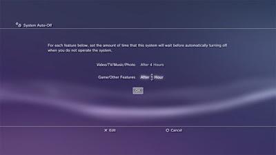 Nova atualização do PS3 dá mais opções de poupança de energia (Foto: Divulgação)