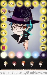 Tải phần mềm vẽ ảnh Chibi cho điện thoại Android, iOS