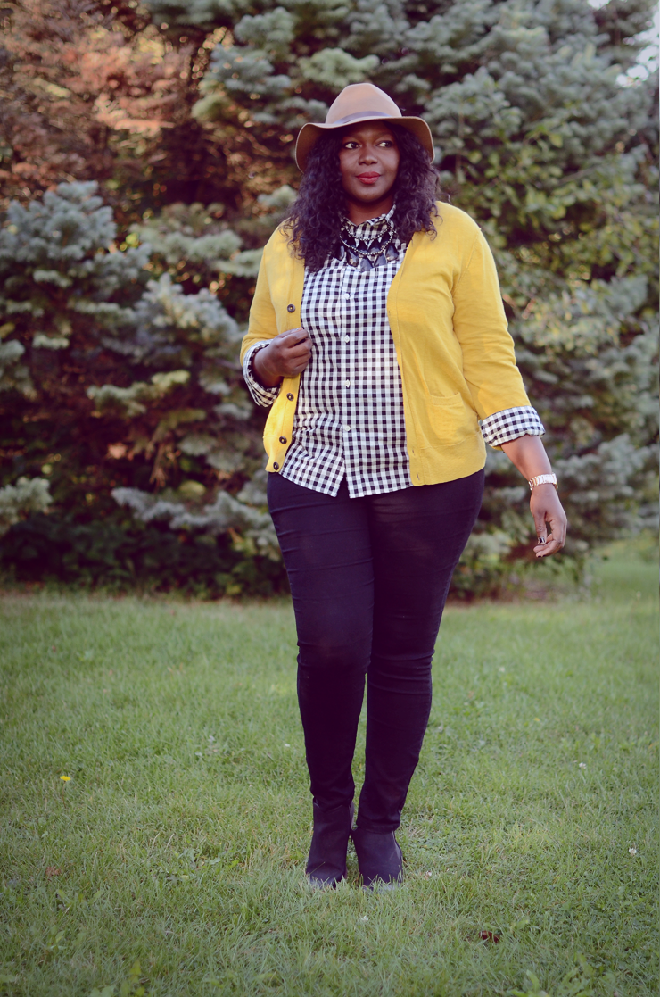 Plus size outfit idea for fall. #plussize fashion for women