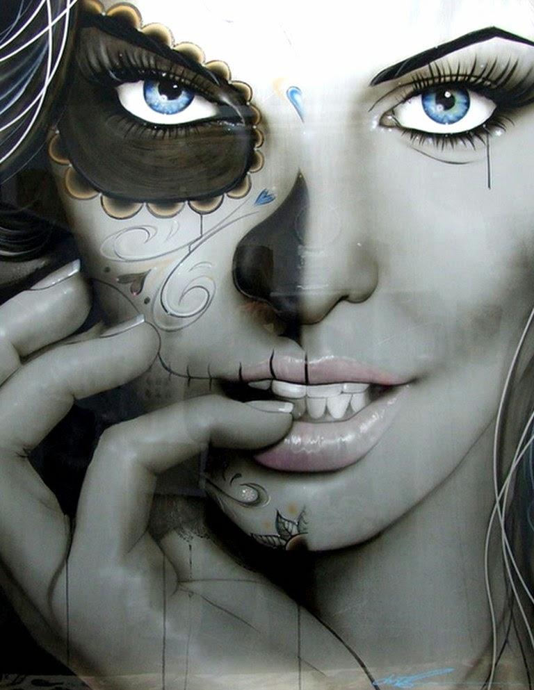 rostros-femeninos-fotografías