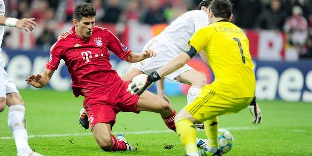 Video Bayern Munchen vs Real Madrid 2-1 Semi Final Liga Champion 2012