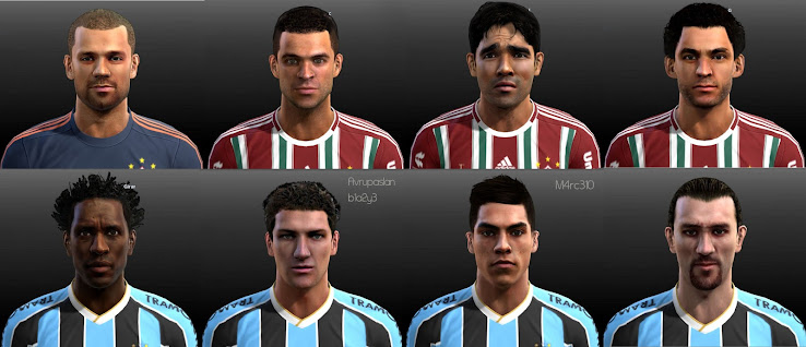 PES 2013 Copa Libertadores Facepack by Junior Lima