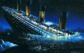 Россия идет ко дну, как «Титаник»