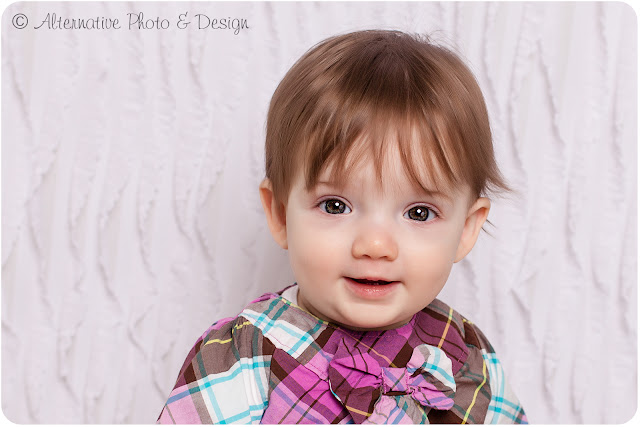 Adorable {A} is 1   Family & Child Photographer   Janesville Wisconsin