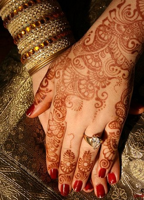 Bridal Mehndi Ki Design : Mehndi designs bridal