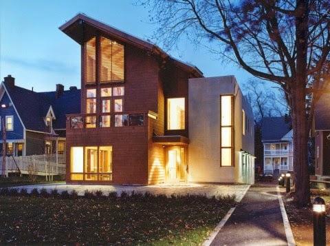 Fachadas de casas chalets for Frentes de chalets modernos
